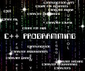 C++ Programming Indicates Software Development And Application poster