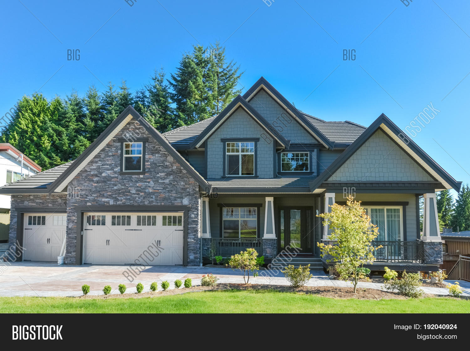 nd New Luxury Image & Photo (Free Trial) | Bigstock House With Big Garage on cars with garages, big 1 story homes, big old houses, big garage homes, big inside of garage, big house with cars, boats with garages, big mansion bedrooms, mansions with garages, big old garages, big brick house, big houses for cheap prices, big nice house inside, big houses on islands, big house with yard, big houses beautiful houses, big narco houses, million dollar garages, house plans with large garages, inside of house garages,