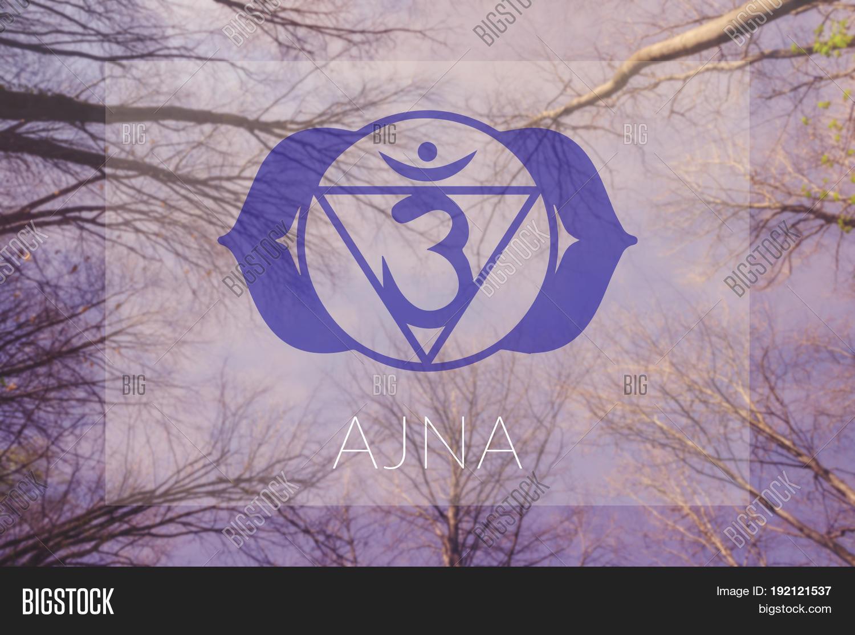 Ajna Chakra Symbol Poster Yoga Image Photo Bigstock