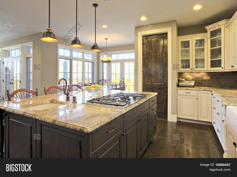 Luxury Kitchen Image Photo Free Trial Bigstock