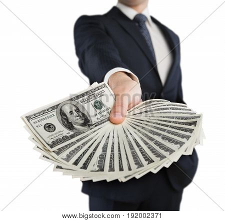 Money business hand businessman retail buy commercial