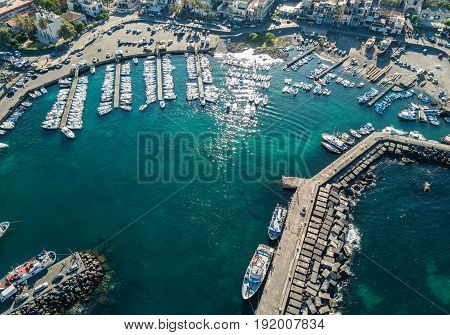 Aerial View Of The Marina