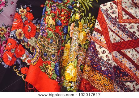 Fabric With Patterns, Ethnic Textile Factory