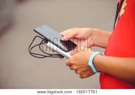 Power Bank Charges The Phone