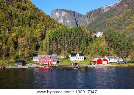 Sognefjord Scenery, Norway, Scandinavia