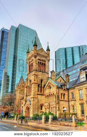 St Andrew's Presbyterian church in Toronto - Ontario, Canada