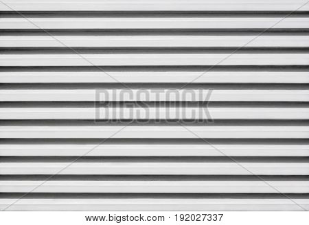 Pattern in horizontal of aluminium zinc louver