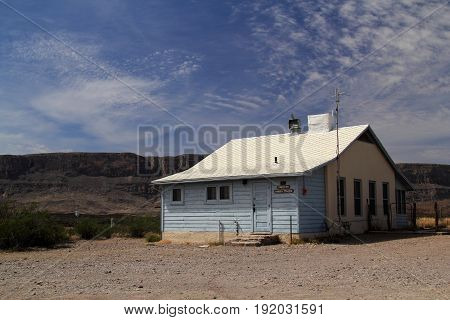 Historic Structures in the Costolon Section of Big Bend National Park, Texas