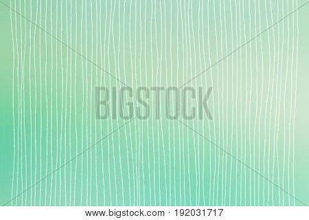 hand painted lines on green color background - minimalistic design