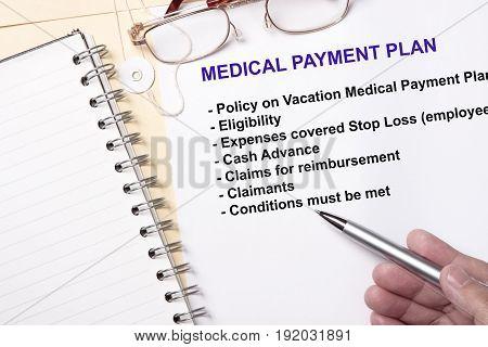 Medical Payment Plan