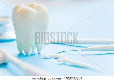 concept image of dental hygiene background texture