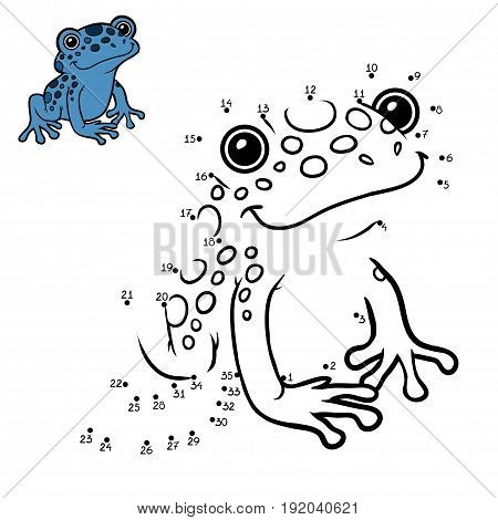 Numbers Game, Blue Poison Dart Frog