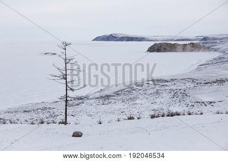 Ulan Hushinsky Gulf, Lake Baikal. Olkhon Island