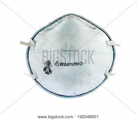mask particulate respirator offering protection with acid-gas
