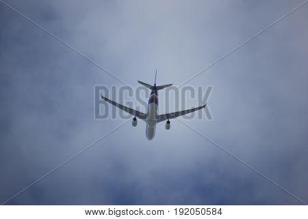 Hs-tep Airbus A330-300 Of Thai Airway.