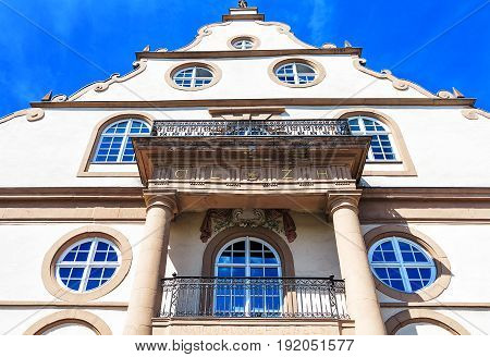 Baroque building Ottoneum in Kassel, Northern Hesse, Germany