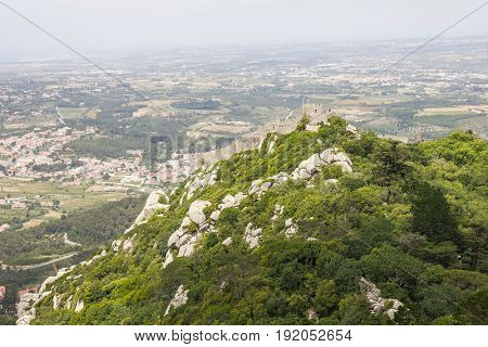 Castle of the Moors (Castelo dos Mouros), Sintra, Portugal