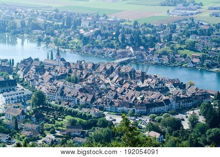 The Beautiful Medieval Town Of Stein Am Rhein