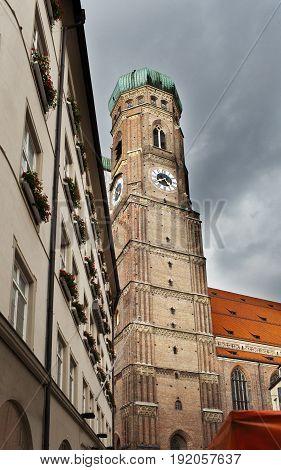 Munich Frauenkirche Cathedral in the Munich in Germany.