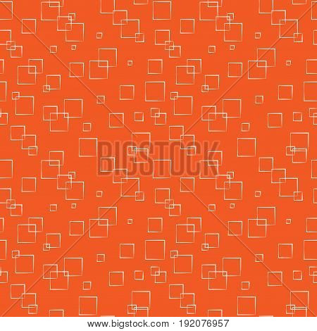 Square and circle seamless pattern. Fashion graphic background design. Modern light stylish abstract texture. Colorful template for prints textiles wrapping wallpaper website. Vector illustration