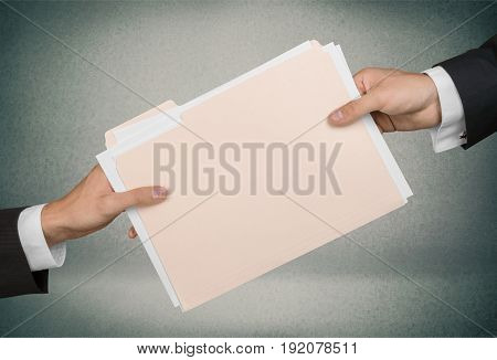 Men concept documents white background paper business