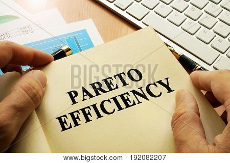 Book with title Pareto Efficiency in an office.