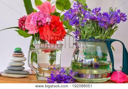 blue gentian tea therapy & herbal teas