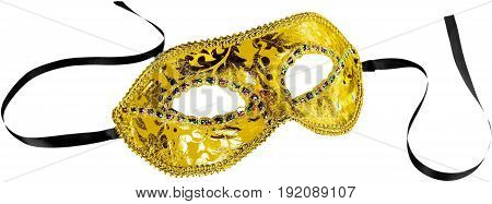 Mask carnival white background ball illustration copy