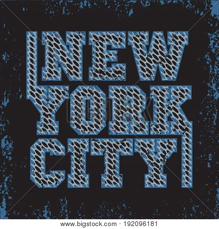 T-shirt New York sport design fashion typography graphics stylish print for sportswear apparel.