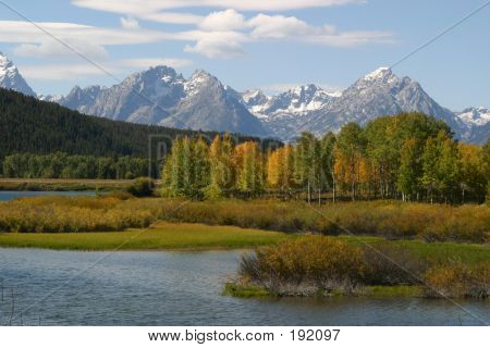 Fall In Tetons