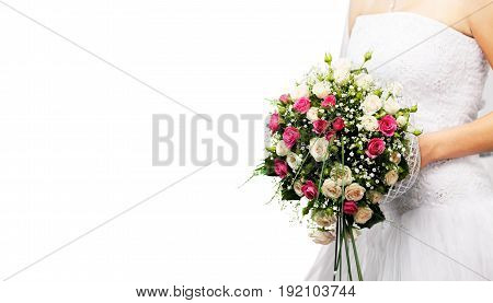 Beautiful bouquet wedding bride wed young adult wedding design