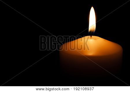 Christmas night candle burn background celebration decoration