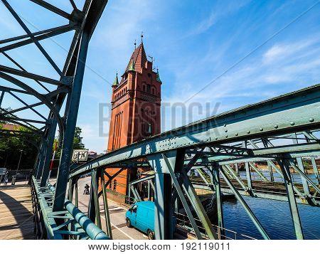 Burgtor Bridge In Luebeck Hdr