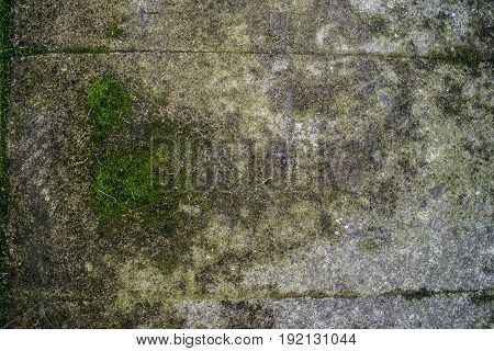 Fragment Of Old Grungy Texture With Chipped Or Wallpaper Red Blue Green Yellow Grey Brown Maroon Ora