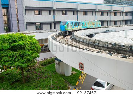 Changi Airport Skytrain, Singapore