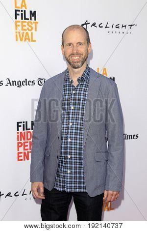 LOS ANGELES - JUN 19:  David Leslie Johnson at the 2017 Los Angeles Film Festival -