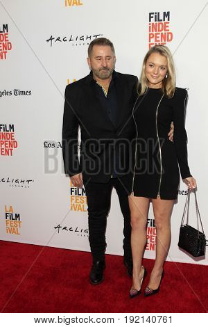 LOS ANGELES - JUN 19:  Anthony LaPaglia, Alexandra Henkel at the 2017 Los Angeles Film Festival -