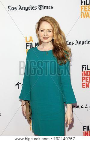 LOS ANGELES - JUN 19:  Miranda Otto at the 2017 Los Angeles Film Festival -