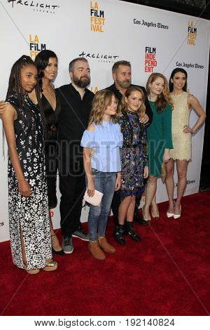 LOS ANGELES - JUN 19:  Annabelle- Creation, cast, director at the 2017 Los Angeles Film Festival -