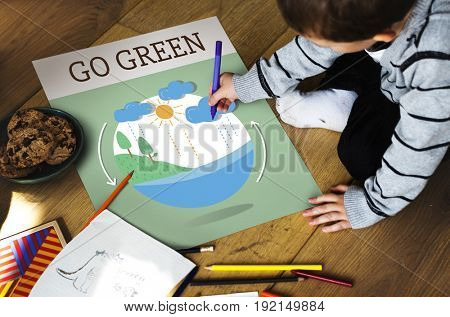 Environment Responsible Green Global Living Ecology