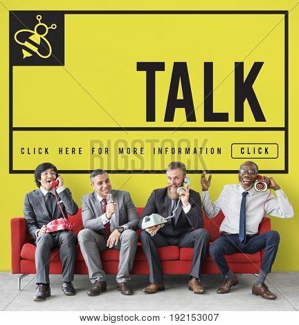 Talk Communication Connection Internet Concept