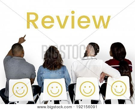 Evaluation Feedback Customer Smiley Response