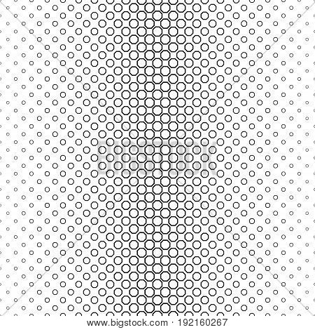 Black and white line octagon pattern design
