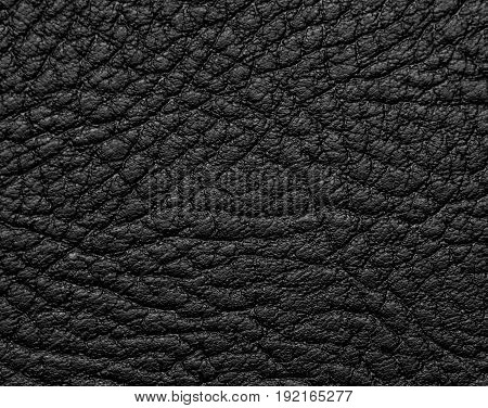 Background of a black leather . A photo