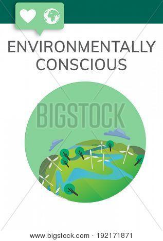 Environmentally Conscious Graphic