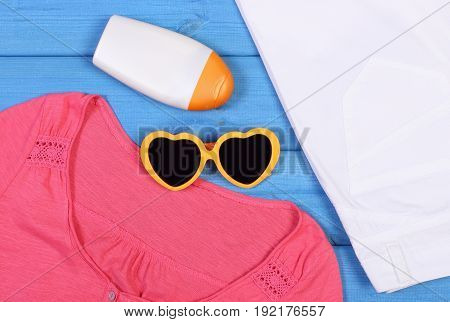 Clothing For Woman And Accessories For Vacation And Summer Time