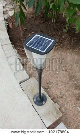 Outdoor park lighting pole, energy saving power pole.