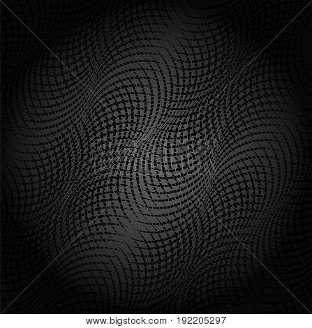 Dark texture. Black abstract background. Black pattern.