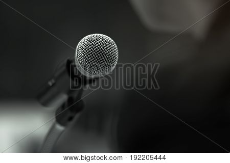 academic artist attractive audio background black blur business businessman businesspeople college communication concert condenser conference consultant contemporary corporate course dark design doctor education explaining feminist hall handsome keynote l