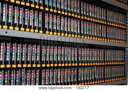 Backup Tapes With Digital Storage